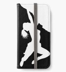 girl bouldering iPhone Wallet