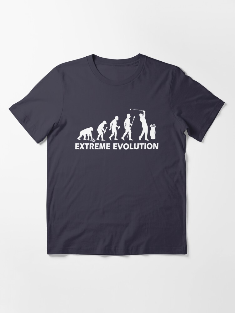 Alternate view of Funny Golf Extreme Evolution Essential T-Shirt