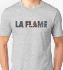 Travi$ Scott - La Flame Writing Unisex T-Shirt