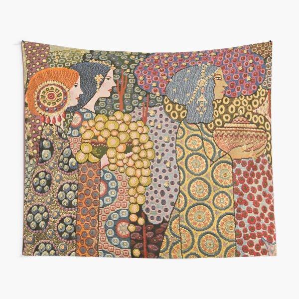 """The Wedding of Aladdin"" by Vittorio Zecchin Tapestry"