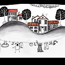 The village by Jenny Wood