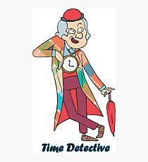 time detective Photographic Print
