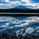Elk Lake Sunrise 5 by Richard Bozarth