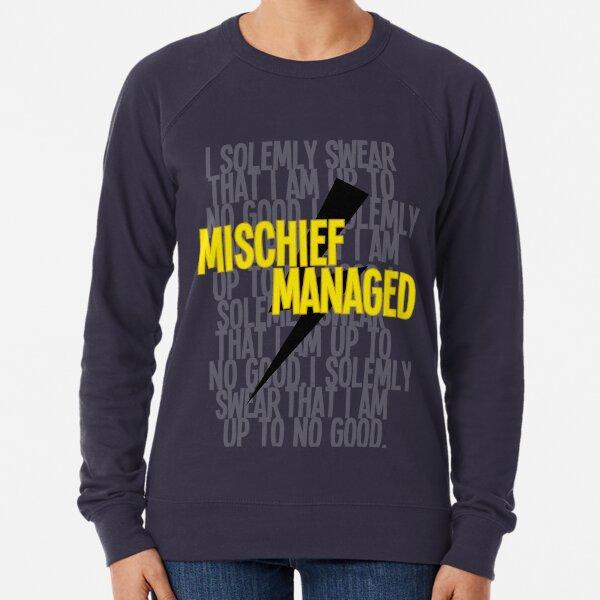 Mischief Managed Lightweight Sweatshirt