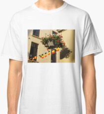 Brussels, Belgium - Flowers, Flags, Football Classic T-Shirt