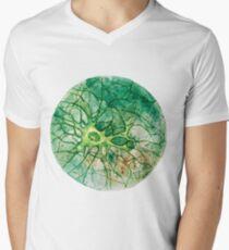 Neuron - Watercoulor - New Colour!! Men's V-Neck T-Shirt