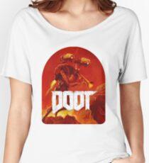 Doom Doot shirt Women's Relaxed Fit T-Shirt
