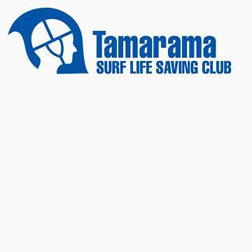 Tamarama SLSC by redacedesigns