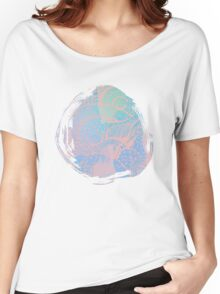 Abstract pastels color pattern Women's Relaxed Fit T-Shirt