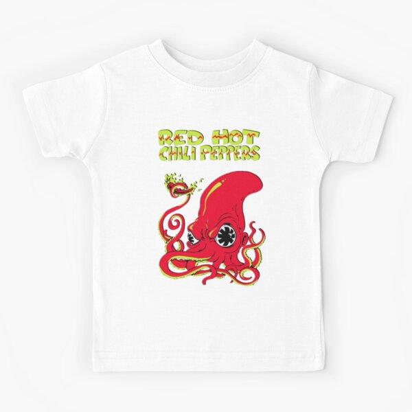 Pegatina Red hot chili pappers camiseta rock music Poster rhcp music Camiseta para niños