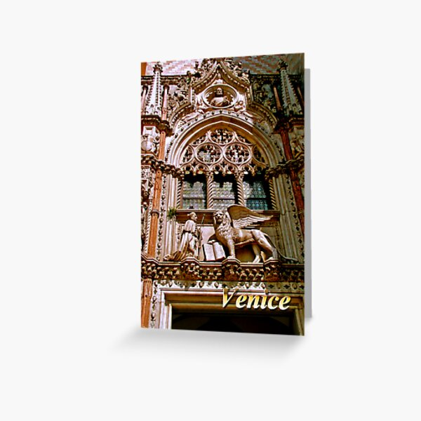 Palazzo Ducale, Venice, Italy Greeting Card