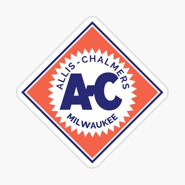 Logo diamant rétro Allis Chalmers 1919 Sticker