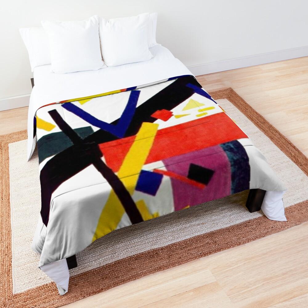 Супрематизм: Kazimir Malevich Suprematism Work Comforter