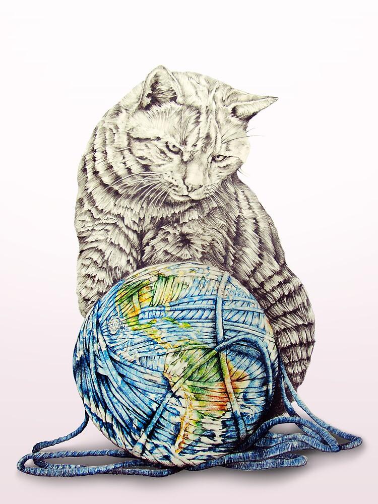 Our feline deity shows restraint von jamesormiston