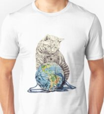 Our feline deity shows restraint Unisex T-Shirt