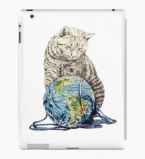 Our feline deity shows restraint iPad-Hülle & Skin