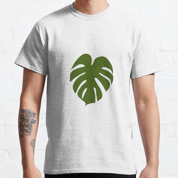 Full colour Monstera Leaf Classic T-Shirt