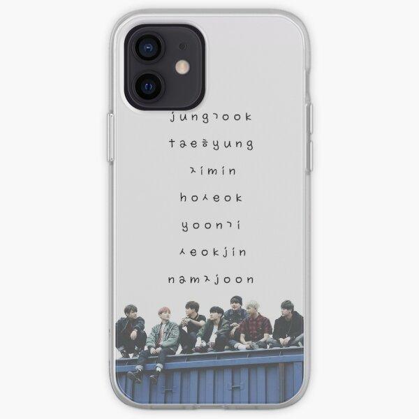 BTS phone case #12 iPhone Soft Case