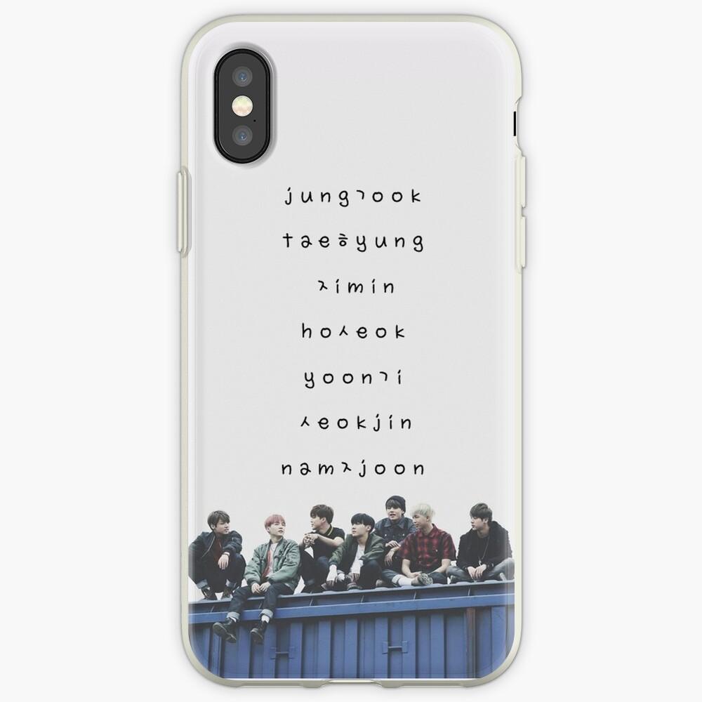 Estuche para teléfono BTS n. ° 12 Vinilos y fundas para iPhone