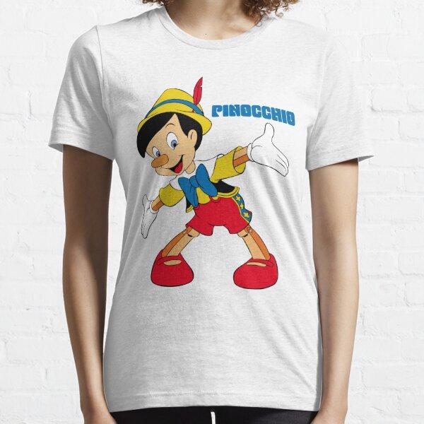 Pinocchio Cartoon Movie Funny Essential T-Shirt