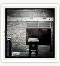 Love / Hope Sticker