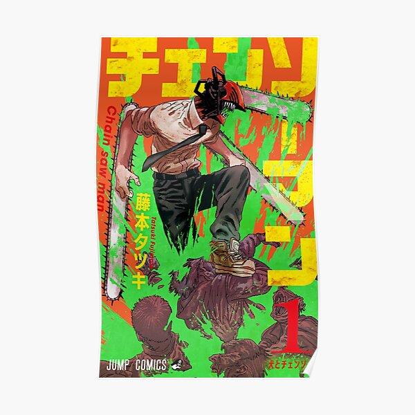 Couverture de Chainsaw Man Volume 1 Poster