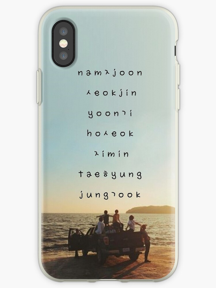 watch f72ea 9c8d6 'BTS phone case #16' iPhone Case by parkjimin