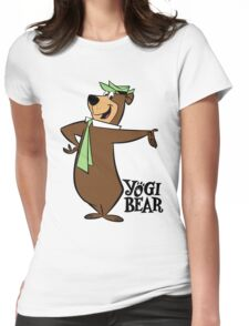 Yogi Bear Womens Fitted T-Shirt