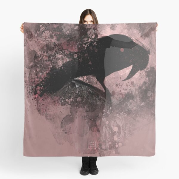 The crow collection I Scarf