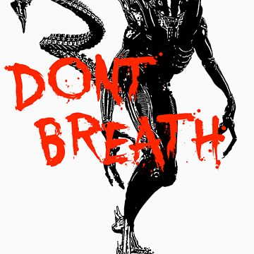 "NEW* ALIEN: ISOLATION MERCHANDISE... ""DONT BREATH"" by ShadowGaming"