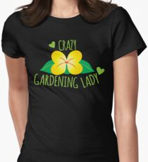 Crazy Gardening Lady T-Shirt