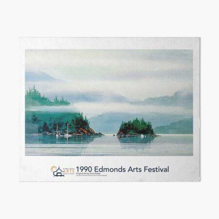1990 Edmonds Arts Festival Poster, Print, or Art Board Art Board Print