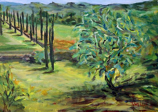 Olive Tree by TerrillWelch