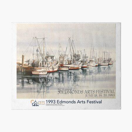 1993 Edmonds Arts Festival Poster, Print, or Art Board Art Board Print