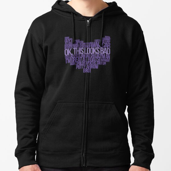 Hawkguy quotes Zipped Hoodie