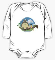 Mein Nachbar Totoro Baby Body Langarm