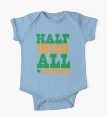 Half Irish - All AWESOME One Piece - Short Sleeve