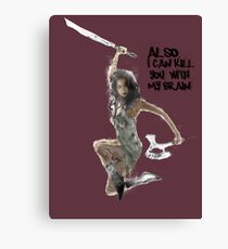 River Tam Can Kill You Canvas Print