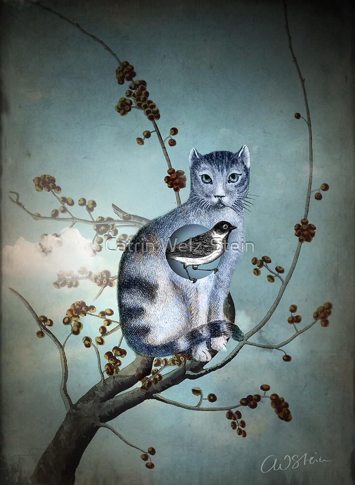 The Blue Cat by Catrin Welz-Stein