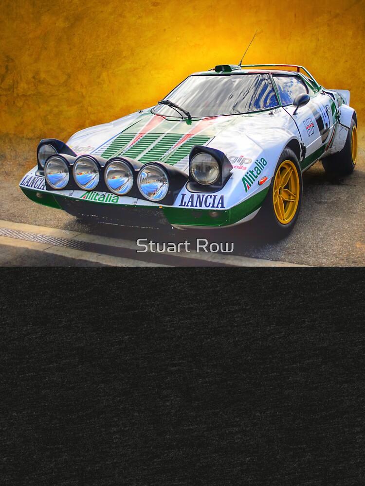 Lancia Stratos by StuartRow