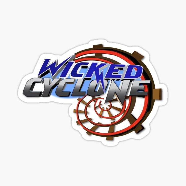 Wicked Cyclone Sticker