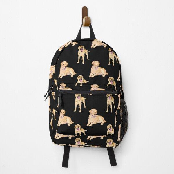 Labrador Retriever Pattern Backpack