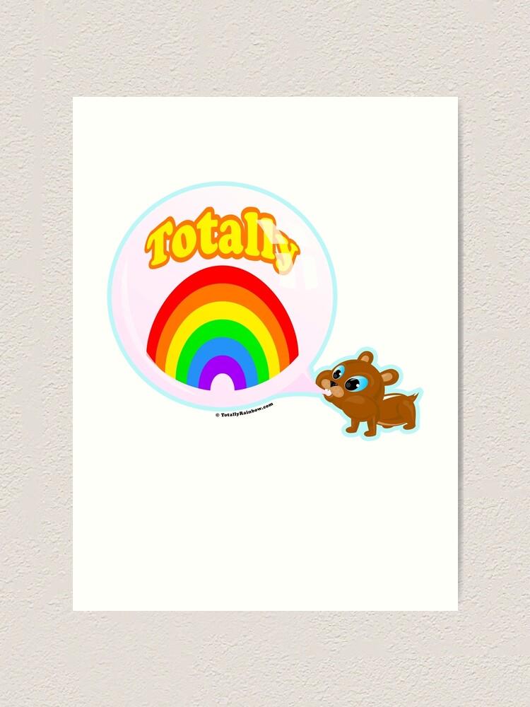 Alternate view of Bubble Gum Bandit! Art Print