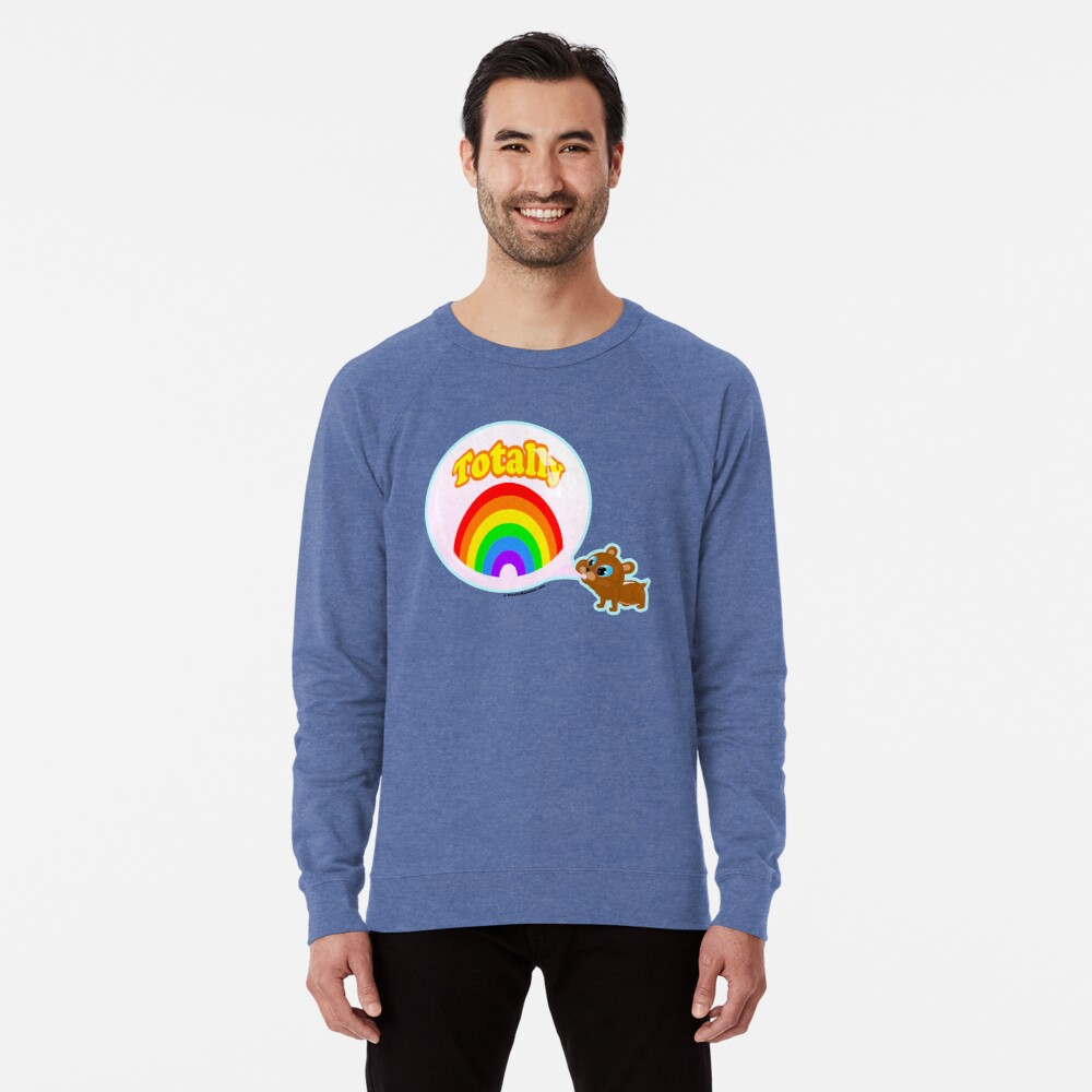 Bubble Gum Bandit! Lightweight Sweatshirt