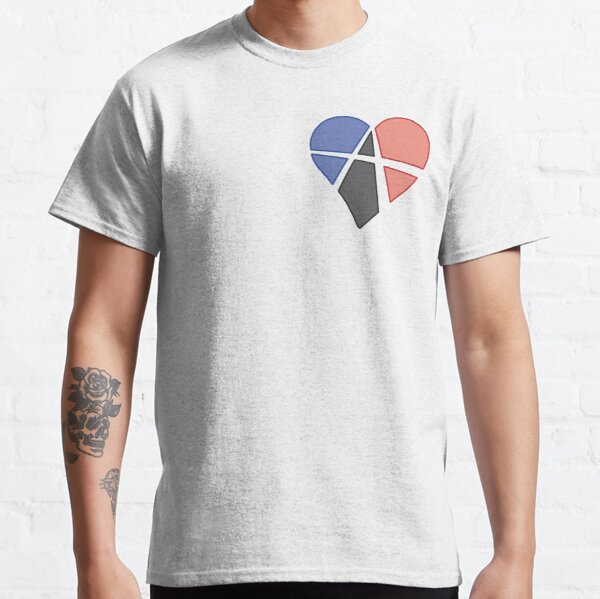 Subtle Relationship Anarchy Heart (polyamory) Classic T-Shirt