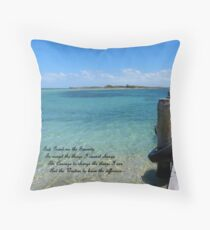 The Serenity Prayer Throw Pillow
