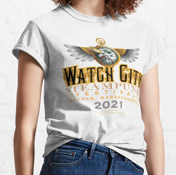 Watch City Steampunk Festival Moon Logo 2021 Classic T-Shirt