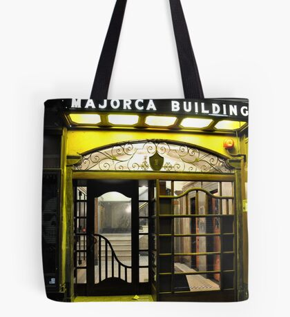 Majorca Building Tote Bag