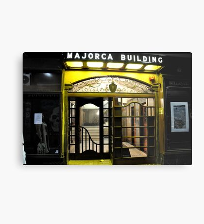 Majorca Building Metal Print