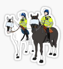 London Metropolitan Horse Cops Sticker